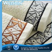 hotel manufacter 100% polyester solid color big bamboo fiber bath towel fabric