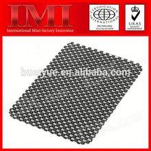 Hot ISO9001 14001 RoHS Certificate Custom Printed Natural foam latex backed anti-slip mat