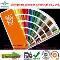 Epoksi polyester elektrostatik toz boya/resim RAL 7035