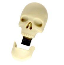 Cool skeleton face stick usb Novelty ,3D usb memory stick, Wholesale Promotion Price