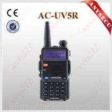 Dual Band Dual Display Dual Standby Security Guard Equipment Walkie Talkie AC-UV5R OEM ANYSECU handheld radio