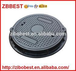 EN124 SMC B125 Round 550mm Plastic Manhole Cover Double Seal