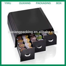 """Mind Reader """"Anchor"""" Coffee Pod Storage Drawer for 36 Keurig K-Cup, 42 CBTL/Verismo Coffee Pods, Black"""