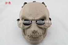 Horror Scary flaw Human Skull Full Head resin Mask Treasure Hunter replica prop The movie theme masks