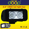 CE RoHs 4X4 LED Light Bar, Offroad CREE 20W Car LED Light Bar Single Row 4.6 Inch