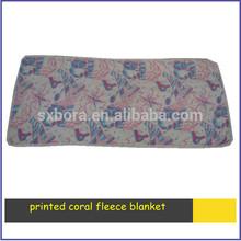 wholesale 100% polyester coral baby fleece blanket baby