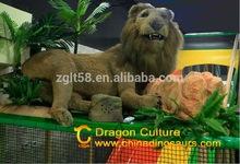 2014 FIRE STORM !!! electronic lion grasslands Jungle animals