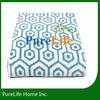 Geometrical Pattern chenille knit throw blankets