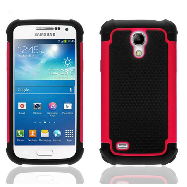 Hot selling rugged case for samsung s4 mini i9190/i9192/i9195/i9198