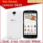 2014 original new lenovo s820 MTK6589 quad core 13mp camera android phone
