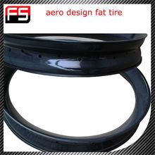 Fresh design!!!2015 new product 26er aero design carbon fat bike rim 32h