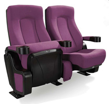 VIP auditorium chair seat with cup holder Y336