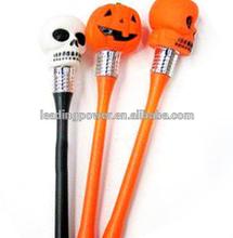 led pen with flash light for halloween / novelty pen