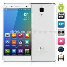 Xiaomi Mi4 Smartphone Qualcomm Snapdragon 801 Quad Core 5.0 inch Sharp OGS FHD Screen 1920X1080 Pixels 3GB RAM 16GB ROM 8MP/13MP