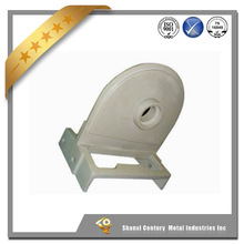 High quality OEM water glass lost wax investment casting forked parts