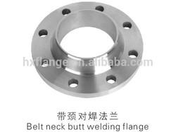 stainless belt neck butt welding flange's price