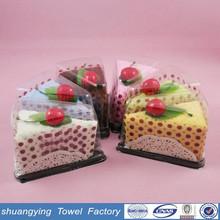 30*30cm high quality lovely microfiber hot sale cake towel