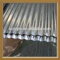 galvanizado ondulado ferro de folha de cobertura