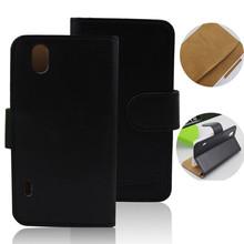 flip leather case for lg optimus black p970 cover