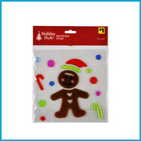 Christmas Style Gel Clings Window Sticker