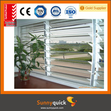 2014 fashionable fixed glass shutter window from gold supplier
