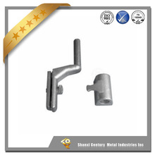 High quality OEM carbon steel investment casting truck hinge