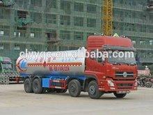 new 8x4 3axle bulk cement delivery trailer truck 40m3 dry bulk cement powder truck