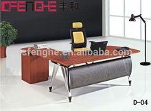 manufacturer china hot sale melamine executive desks