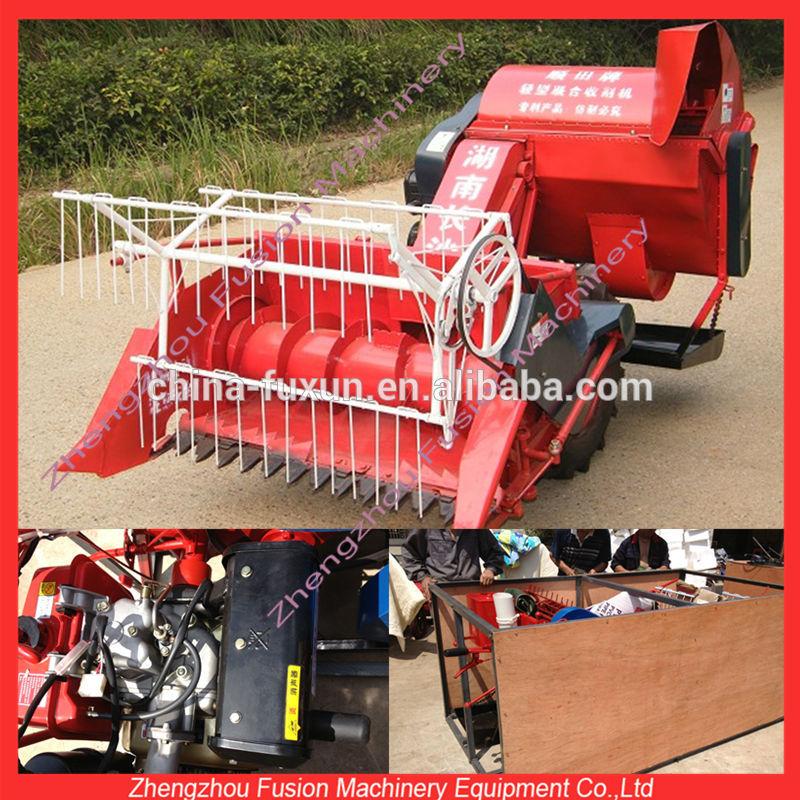 Usado new holland combinar colheitadeira/tractor debulhadora de trigo/cortador de trigo colheitadeira de mini