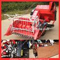 Utilizado new holland cosechadora/tractor cosechadora de trigo/cortador de trigo cosechadora mini