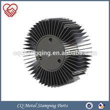 China OEM Perfect Quality LED Aluminium Heatsink Round 100w