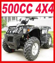 Specialize production Black 4 wheel 500cc atv for sale