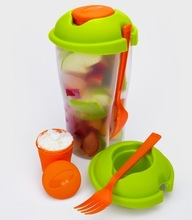 salad go container / salad cup