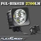 aluminum rechargeable 8000mah 3 cree xm-l u2 led bike lights custom