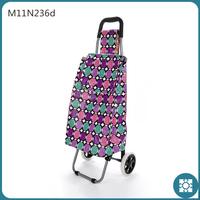 Most PopularCircle foldable 2 wheels shopping plastic bag trolley bag