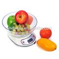2014 caliente- la venta uso en el hogar de la escala, balanza de cocina digital, digital escala de alimentos