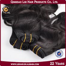 2014 Wholesale High Quality wavy virgin lady star human hair miracle hair