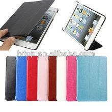 Tri-folding magnetic slim Stand Case for iPad Mini,fashion case for ipad mini