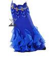 sirena de pescado de danza del vientre niñas de lujo de la danza etapa disfraces vestido de rendimiento