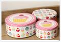 Decoración de la torta latas/torta de la boda latas/mini ronda latas de la torta