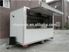 Sandwich panels Street Mobile kitchen Service Cart food truck/fan van