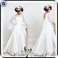 Tt0130 China fábrica de noiva vestido de casamento com lace bolero jacket