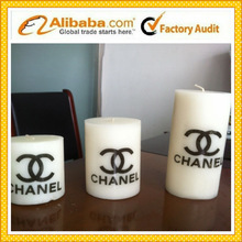 white pillar candle factory price
