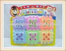 bambini lettere e numeri arabi giocattolo del blocco giochi di puzzle