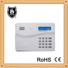 GSM and PSTN auto dialer for alarm system with LCD play