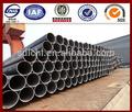 laminado en caliente de acero estructura de tubo y el tubo