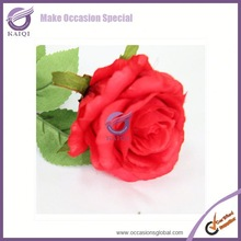 18285-4 rose car decoration rose bud artificial flower shop