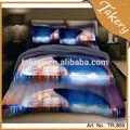 el más nuevo diseño 3d conjunto ropa de cama de china