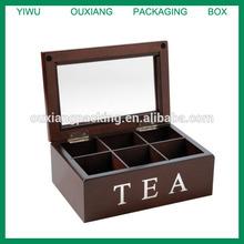 Mark Feldstein and Associates TBX6 Tea Chest 6 Compartment