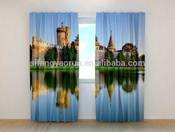 New curtain tende da doccia hookless courtains3D curtain